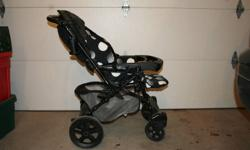 Peg Perego stroller. With reversing handle so you can push with child facing towards or away from you. Light and easy to handle, adjustable height handle. Exellent condition, barely used. Paid over $500 new, asking $200.