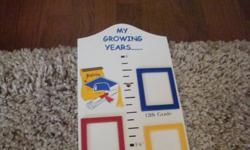 My Growing Years picture frame