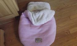 hi i have 2 car seat covers one is pink and one is black, both barely used. $10.00 each