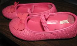 Size 9. They do have toe wear, as seen in the pictures, but are still wearable, and are very cute on. They are very clean, and have a lot of wear still left in them. Non-smoking, not near pet home. Pickup is in North Lethbridge, near Wal-Mart.