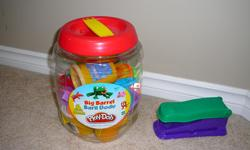 Please view photo also includes a fun factory shape making stapler & container for storing.