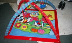 - in good used condition - only reason I'm getting rid of it is because my little guy wont sit still long        enough to play with it   $15.00 OBO   check out my other ads *if ad is active then it is still available*