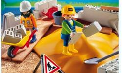 Playmobil construction. New in box. Price is firm.