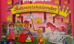 "* Playmobil #4154 Advent Calendar ""Princess & Unicorn Paradise"" - $15 * Playmobil #4158 Advent Calendar ""Unicorn in Fairy World"" - $15 COMPLETE with Original boxes, superb condition. Figures can bend, sit, stand and turn their heads. Encourages children"
