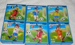 ***I closed my E-Bay Store, due to the lack of Sales, high shipping costs and staggering fees*** These PLAYMOBIL Sets from the 2011 Soccer Series are - DISCONTINUED and HARD TO FIND - BRANDNEW in FACTORY SEALED BOX - for Ages 5+ **I have more than 1 of