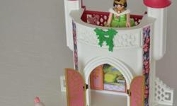 Playmobil Unicorn Take Along Castle, with Princess, Castle and Two Unicorns.