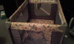 playpen barely used