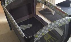 Playpen with Bassinet & Changing Table by Little Zoo Used at grandparents house - brand new condition, the bassinet & changing table were never used, still in box. Asking $70 OBO Txt Dave at 306-520-2217 or email dkramer@accesscomm.ca