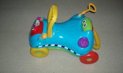 I have a Playskool Busy Basics Step Start Walk 'n Ride for sale.  Excellent Condition, asking 10$.