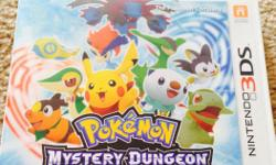 Mystery dungeon. Gates to infinity. Perfect condition. In original box.