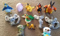 Pokemon figurines in great condition. From a smoke free and pet free home