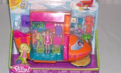 Polly Pocket Designer Jetliner Groovy Getaway  2003 Mattel   Never Opened   Jetliner no longer in production $25
