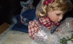 Brand new - in the packaging/box - sweet little doll - would make a great Christmas or birthday gift! Located in Stratford, but could deliver within Chtown area.
