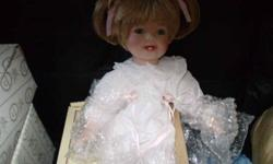 Brand new, still in the box - lovely little doll - would make an awesome Christmas or birthday gift. Can deliver within the Charlottetown area.