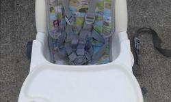 Portable Baby chair adjustable good condition