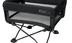 Kidco DreamPod Portable Bassinet - midnight Includes 2 fitted sheets (grey) Includes original travel case Excellent condition