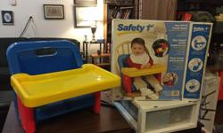 Safety 1st Portable Booster Chair.