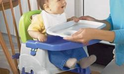 Hi I am looking for either the Fisher Price Foldable highchair with tray or the Chicco portable clamp on high chair. Preferrably gently used and a smoke free home :)