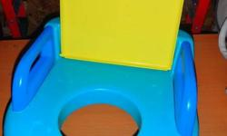 This was from a step and stool set. It goes directly onto a regular toilet seat and it is great for potty trainers who wants to use the real potty