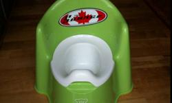Baby Bjorn potty and potty seat adapter... This ad was posted with the Kijiji Classifieds app.