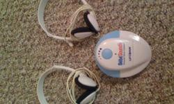 I am selling a Unisar Prenatal Heart Beat Listener. You can listen to your baby's heart beat at home! It is suggested that Pregnant Moms can use this at 16 weeks and up (the farther along you are, the more likely to hear the heartbeat). Uses a 9v battery