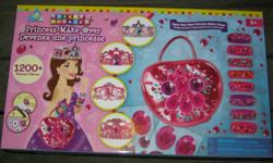 This is Brand new. No messy paints. Stick on by number and create hours of fun. Create Tiaras with colourful gems. ONLY $20 ONLY 2 available, so hurry. Call 905-685-7300