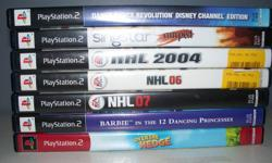 $5 each PS2 games   please check out my other items