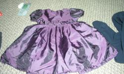 purple dress great for xmas in good condition