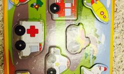 I have different kinds of puzzles for sale.it includes vehicles, space, canada map and a chunky aquarium puzzle.all r in good condition except the chunky was chewed by my kid. Asking 5$ fir all.worth around 30$. Smoke and pet free home.