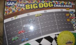 """Racetrack Magnetic Board Size: 36"""" Long X 24"""" High Magnetic Cars included Used ALL of his magnets with this board not just the race cars There are scratches on the board but still an awesome item ONLY $15 can meet in west end of ottawa (kanata) or pickup"""