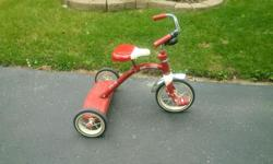 'Radio Flyer' tri-cycle available. Perfect condition. Scott scott.becksted@gmail.com 613-915-1520
