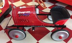 Brand new Speed Racer pedal Car. Steel body, Very rare. Great gift or collectible. Look at my other ads.