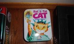 A fun numbers game with cats (and a few rats) for ages 6 and up