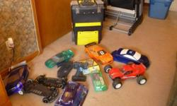 """SERIOUS INQUIRIES ONLY!!!  $200 takes everything.  TC3, TC4 truck, X-rater..1 controller, battery packs, repair kits, extra wheels plus tons of other """"stuff"""" with it...Must take everything.  Call Maria 905-680-8884."""