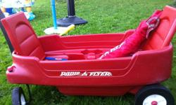 Red Flyer Red Wagon - Fits two small children - comes with detachable Red Flyer canopy
