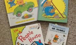 AP All are in excellent condition. Richard Scarry's: Pop-Up Opposites $5 Richard Scarry's: The Early Bird $5 In a People House by Theo. LeSieg $5 Richard Scarry's: Mr. Frumble $3 OR...buy all four for $15.