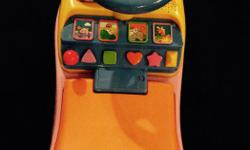 Dora the Explorer ride on toy Animals pop up The seat lifts up for storage The characters move when music plays There is also a little play phone It's in good condition