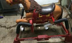 good condition this is radio flyer not junk looking for 50 buck's thank you