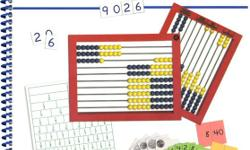 Right Start lesson book, worksheets, and starter kit (including abacus, all the many decks of cards, tiles, geoboards, clock, math balance, tally sticks, geometry reflector, and Yellow as the Sun song CD). It really is a great math program if you have a