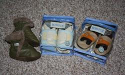 Robeez shoes 6-12 months $10 truck one sold Robeez Booties 6-12 months $15 sold