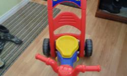 Excellent young kids trike, this one with plenty of mileage left on it Selling right now at Walmart for $62.77. Asking $30 OBO.