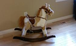 1 children's rocking horse for sale asking $20.00 or best offer.