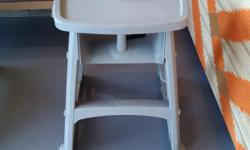 Hi there. I have 3 Rubbermaid High Chairs with trays to sell. They are commercial grade highchairs used and in great condition ,sturdy, easy to clean, and meet the latest ASTM 404-99 safety standards. The highchairs also come with a convenient handle for