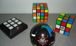 If you collect these puzzles you know what is being offered.   Rubik's World Copyrighjt ITC 1982   Try to find one that is why the price is firm.   All items will remain for sale until sold.  Please only respond if sincerely interested.  You are welcome