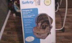 Car seat for sale, still in box. Only used once and got an new set. Will deliver if needed, only in PA area.