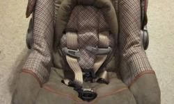 Safety 1st Designer 22 Infant Car seat with base 5 to 22 lbs/19 to 29 inches Exp. in 2016 as per transport Canada as there isn't an exp. date on the seat that I can find. Bought in July-ish 2010 and used for 2 months in 2011. Never been in an accident,