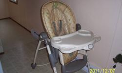 SAFETY  1ST ,high chair paid new 140.00,only use for one child, asking 35,00 please call at 506-328-8608,