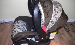 Safety 1st infant carrier car seat Manufactured 2008 10 13 smoke free pet free home never in an accident. $40.00     * Rear facing for infants 5 to 22 lbs(2.3 to 10 kgs) ? 19? to 29?(48 to 74 cms) ? Birth to 1 year     * 5 point harness with push button