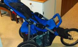 Safety 1st jogging stroller blue on colour. Good condition $50 This ad was posted with the Kijiji Classifieds app.