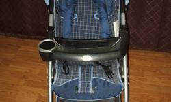 This stroller has only been used for one child and in great condition. I have included all parts and even a rain cover (with a small rip). This stroller system is designed for convenience from infant to toddler. Here are some of the features and